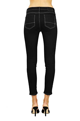 Fit Skinny Skinny Cropped Jeans Skinny Cropped Jeans Nero Fit Nero Cropped Jeans XzrXv