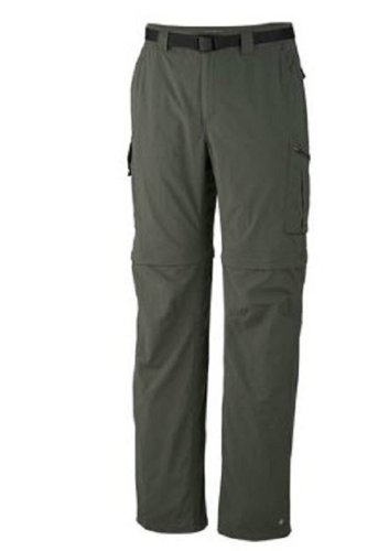 Columbia Sportswear Men's Silver Ridge Convertible Pant, Gravel, 52 x 34