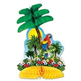 Tropical Island Centerpiece Party Accessory (1 count) (1/Pkg)
