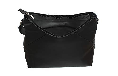 Mala para Bolso 40 Hombro Negro Negro 7132 Mujer al Leather Negro 7wrqI7