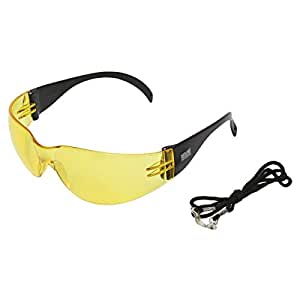 Focus TF12D-Ylw Yellow Lens Safety Goggles
