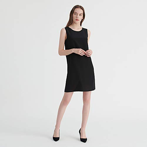Cocktailkleider Partykleider Seidenkleider Sonderangebot Schwarze LilySilk Kleider Schlicht Seide schwarz1 nqwYXp