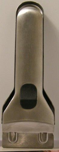 verstellbar Schaber f/ür Kochfelder 13,5 cm Edelstahl