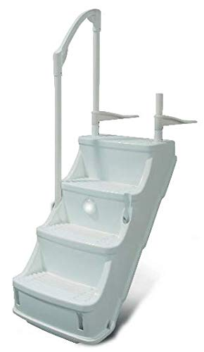 Champlain Plastics Drop-in Step/Ladder for Above Ground Pool (Drop in Step)