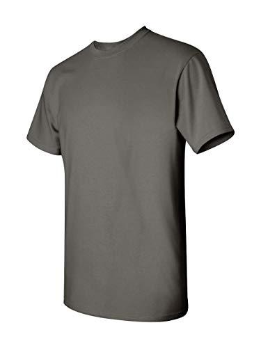 Gildan Men's Heavy Cotton T-Shirt (Charcoal) (Medium)