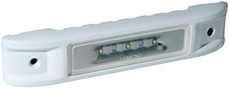 Lumitec Lighting 101521 LED Engine Room Light Ibiza White // Red Dimming White Housing