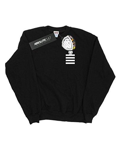Faux Pocket Tweety Negro Looney Camisa Pie Striped Tunes Entrenamiento Mujer De FwxRZqX