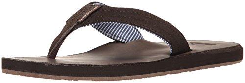 Quiksilver Men's Carver Crew Sandal, Demitasse/Solid, 7 M US (Sandals Quiksilver Woven)