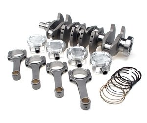 Brian Crower BC0208 Piston (Nissan SR20DE T) Stroker Kit-91Mm Stoke Billet Crank BC625+ Rods 5.366 Custom