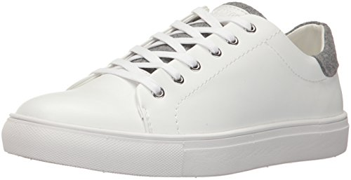Steve Madden Men's Backbeat Fashion Sneaker, White, 11 UK/US Size Conversion M US