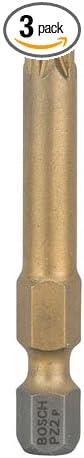 Bosch 2607001599 Screwdriver Bit PZ2Maxgrip 49mm 3 Pcs