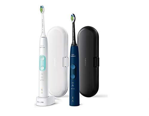 Philips Sonicare ProtectiveClean 5100 HX6851/34 – Cepillo de dientes eléctrico (2 unidades, 3 programas de limpieza…