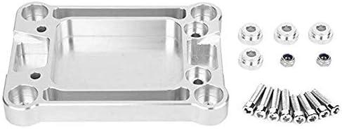Aluminum Shifter Box Base Plate Qiilu Professional Shifter Plate for Honda Civic 1988 1989 1999 2000