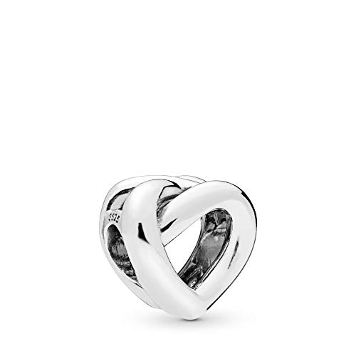 Pandora Jewelry - Knotted Heart Charm for Women in Sterling Silver from PANDORA