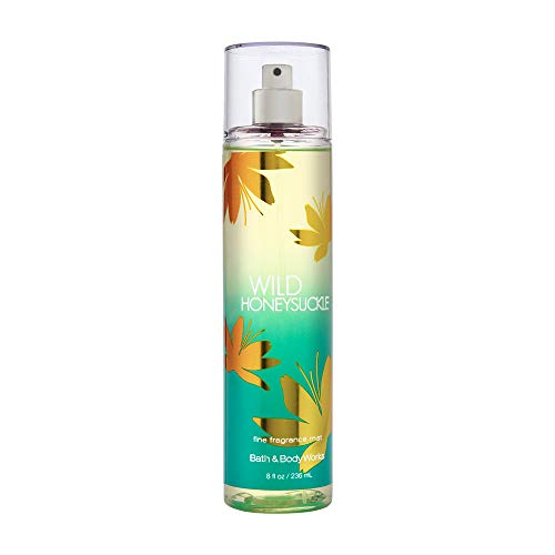 Bath & Body Works Wild Honeysuckle Fine Fragrance Mist, 8 Ounce