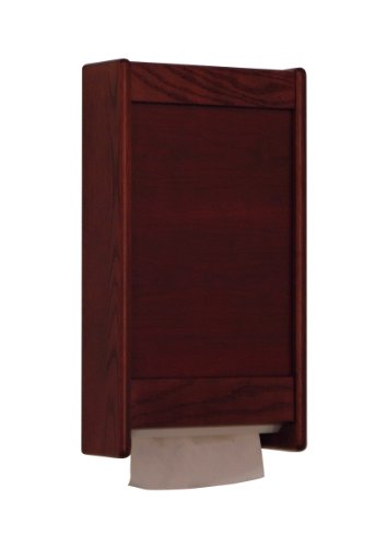 Wooden Mallet C-Fold / Multi-Fold Paper Towel Dispenser Kit Mahogany , Automotive, tool & industrial , Office maintenance, janitorial & lunchroom , Bathroom supplies , Dispensers by Wooden Mallet