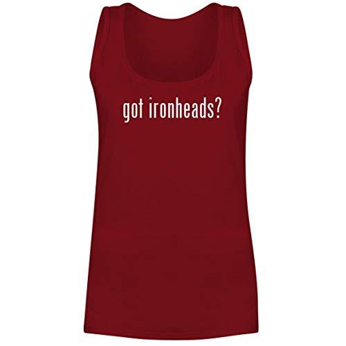 got Ironheads? - A Soft & Comfortable Women's Tank Top, Red, XX-Large (Ironhead Cam)