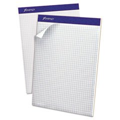Price comparison product image Esselte Pendaflex Corp. 20210 Double Sheet Quad Pad,  4 Sq. Per Inch Rule,  Letter,  White,  Perfed,  100-Sheet Pad