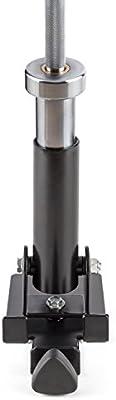 Capital Sports Assimi /• Soporte para Barras de Halterofilia /• Core-Trainer /• para Barras de 30 o 50 mm /• Resiste un m/áximo de 150 kg /• Revestimiento en Polvo /• Negro
