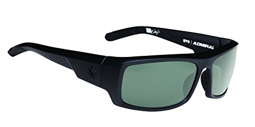 Spy Optic Admiral Wrap Sunglasses, 62 mm (Matte - Optics Sunglasses Action