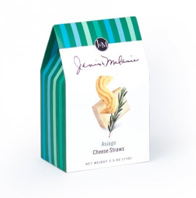 J&M Foods Asiago Cheese Straws, 2.5 Ounce