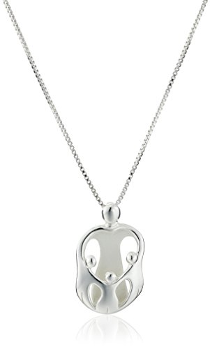 Sterling Silver Children Pendant Necklace