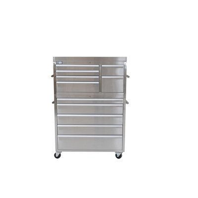 """41"""" Stainless Steel Tool Chest"""