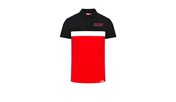Marc Marquez - Polo Bicolor para Hombre MM93 - Oficial 2019 Medium ...