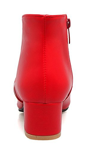 Femme Low Bottines Sexy Chunky Pointues Aisun Boots gd1wqqH