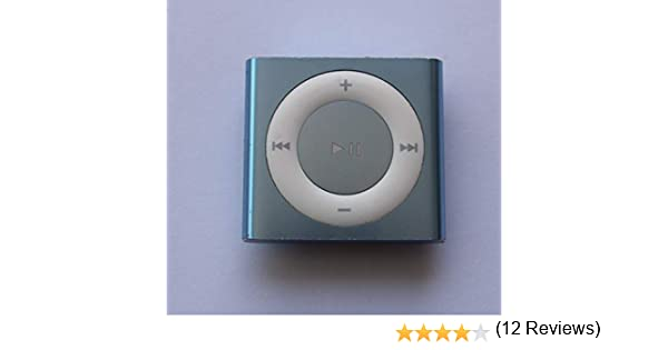Apple iPod Shuffle 4th Generation Silver 2GB Mp3 Player 4G Plata Carcasa de Ordenador