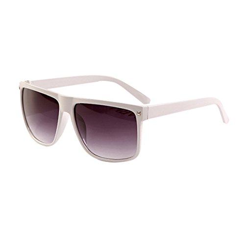 Square Frame Rivets Mirrored Sunglasses Shades for mens oculos de sol - Oculos Masculino Sol De