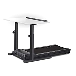 "LifeSpan TR1200-DT5 Treadmill Desk | 48"" White Desktop 