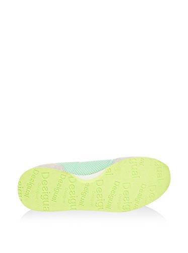 Desigual Zapatillas Primavera Verde Agua EU 41