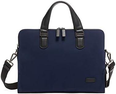 TUMI – Harrison Seneca Laptop Slim Brief Briefcase – 15 Inch Computer Backpack for Men and Women – Navy
