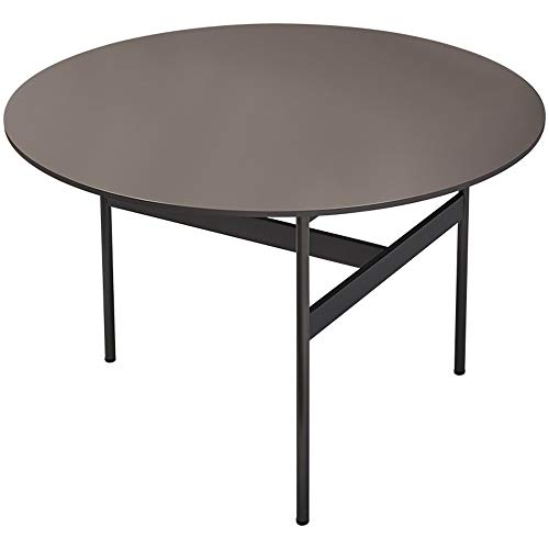 Amazon Com Yhys Wrought Iron Coffee Table Ash Wooden Table Top
