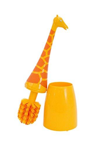 Boston Warehouse Giraffe Toilet Brush, Animal House Collection (Toilet Brush House)