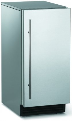 26 lb Brilliance Ice Machine Finish: Stainless Steel / Unfinished, Drain Type: Pump by Scotsman