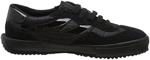 Adulto total Negro Zapatillas Superga Nylu Unisex 997 Black 2832 wYqn7FI