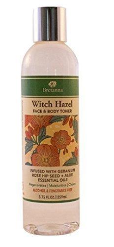 Witch Hazel Geranium Rose Hip Bretanna 8.5 oz Liquid