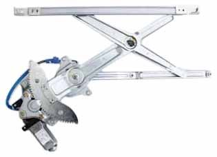 TYC 660095 Toyota Sienna Front Passenger Side Replacement Power Window Regulator Assembly with Motor