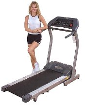Endurance Cardio TF3i Folding Treadmill w/ Quiet Belt from Endurance