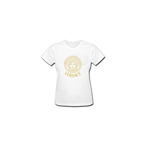 4985902a11581 AC-Versaces-Style Replica T-Shirt - Womens Luxury Brand Inspired Design T