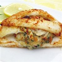 [Today Gourmet - Flounder - Stuffed with Crab Meat (8 - 8oz Flounder)] (Maryland Crab Meat)