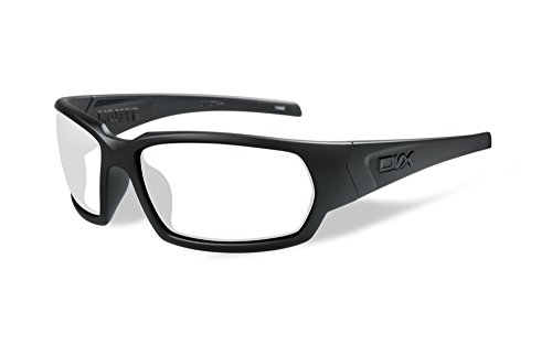 Mojave Glass - DVX by Wiley X- MOJAVE-SAFETY GLASSES- CLEAR LENSES/MATTE BLACK FRAME