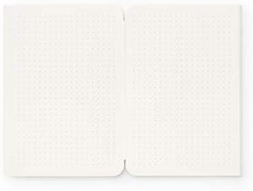 reinheft Papier punktiert zum Nachfüllen für reinheft Notizhefte, 2 x 64 Seiten (L - Din A5)