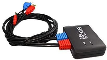 2 Port USB HDMI KVM Switch Switcher With Cable for Monitor Keyboard Mouse