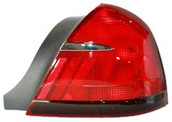 TYC 11-5373-01 Mercury Grand Marquis Passenger Side Replacement Tail Light Assembly (Tail Side Marquis Grand Passengers)