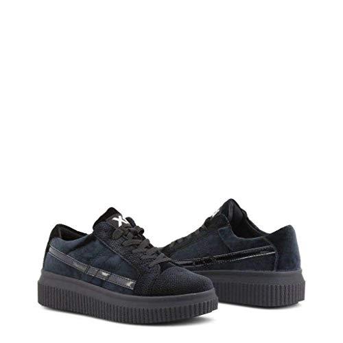 Zapato 047537 Textil Azul De Xti Mujer wg5pd8wq