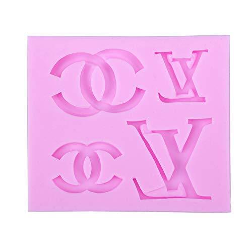 Logo Cake Decoration - Baking Funny 3D Silicone Fondant Mold for Cake Cupcake Decoration, Logo Shape