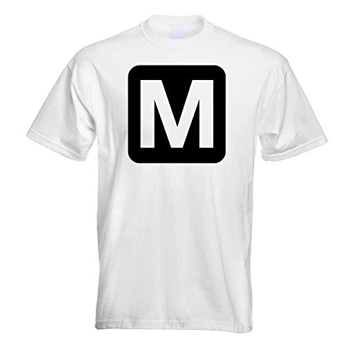 Metro Station Pikto Stop T-Shirt Printed Design Print Gift Idea
